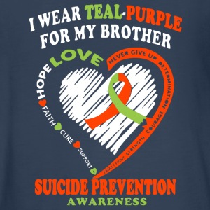 For My Brother Suicide Prevention Awareness Shirt - Kids' Premium Long Sleeve T-Shirt