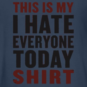 I hate everyone today shirt - Kids' Premium Long Sleeve T-Shirt