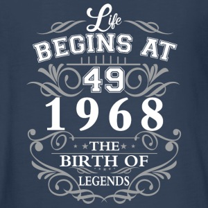 Life begins at 49 1968 The birth of legends - Kids' Premium Long Sleeve T-Shirt