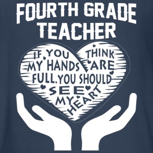 Fourth Grade Teacher T Shirt - Kids' Premium Long Sleeve T-Shirt