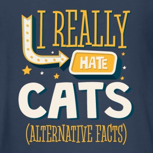 I REALLY HATE CATS - ALTERNATIVE FACTS - Kids' Premium Long Sleeve T-Shirt