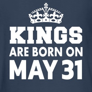Kings are born on May 31 - Kids' Premium Long Sleeve T-Shirt