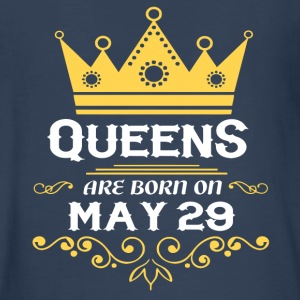 Queens are born on May 29 - Kids' Premium Long Sleeve T-Shirt