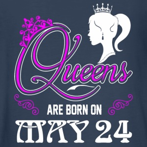 Queens are born on May 24 - Kids' Premium Long Sleeve T-Shirt