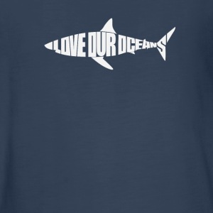 Love Our Oceans Shark - Kids' Premium Long Sleeve T-Shirt