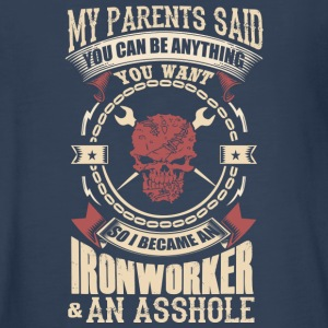 I Became A Ironworker - Kids' Premium Long Sleeve T-Shirt