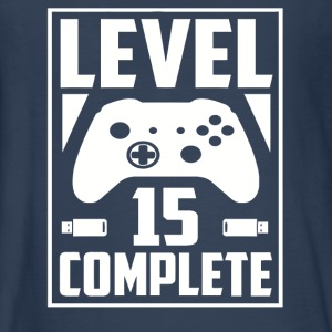 Level 15 Complete - Kids' Premium Long Sleeve T-Shirt