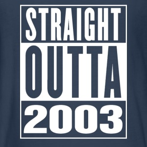 Straight Outa 2003 - Kids' Premium Long Sleeve T-Shirt
