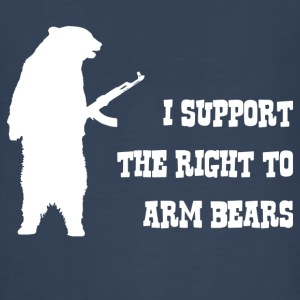I Support The Right To Arm Bears - Kids' Premium Long Sleeve T-Shirt