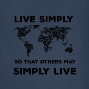 live simply - Kids' Premium Long Sleeve T-Shirt