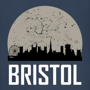 Bristol Full Moon Skyline - Kids' Premium Long Sleeve T-Shirt
