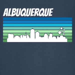 Retro Albuquerque Skyline - Kids' Premium Long Sleeve T-Shirt