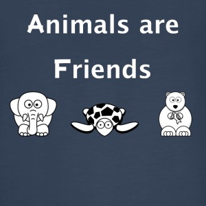 Animals are Friends - Kids' Premium Long Sleeve T-Shirt