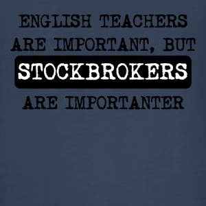 Stockbrokers Are Importanter - Kids' Premium Long Sleeve T-Shirt