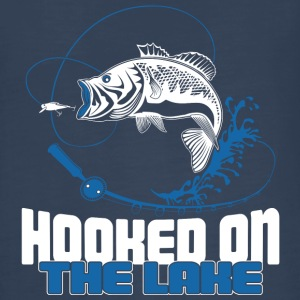 Hooked on the Lake - Kids' Premium Long Sleeve T-Shirt