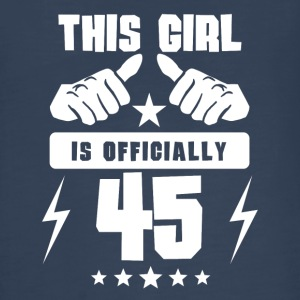 This Girl Is Officially 45 - Kids' Premium Long Sleeve T-Shirt