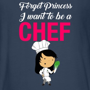 Forget princess I want to be a Chef - Kids' Premium Long Sleeve T-Shirt