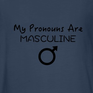 My Pronouns Are MASCULINE - Kids' Premium Long Sleeve T-Shirt