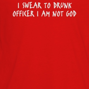 I Swear To Drunk Officer I Am Not God - Kids' Premium Long Sleeve T-Shirt
