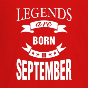 Legends are born in September - Kids' Premium Long Sleeve T-Shirt