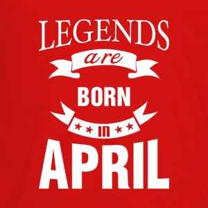 Legends are born in April - Kids' Premium Long Sleeve T-Shirt