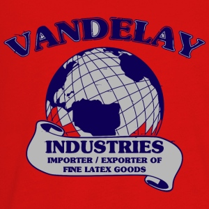 Vandelay Industries vectorized - Kids' Premium Long Sleeve T-Shirt