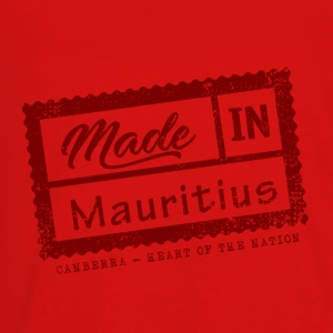 Stamp Made in Mauritius - Canberra - Kids' Premium Long Sleeve T-Shirt