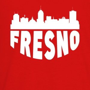 Fresno CA Cityscape Skyline - Kids' Premium Long Sleeve T-Shirt