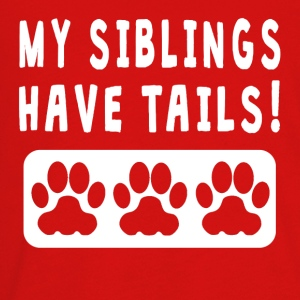 My Siblings Have Tails - Kids' Premium Long Sleeve T-Shirt