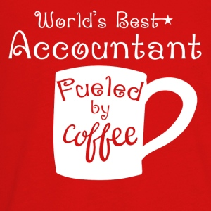 World's Best Accountant Fueled By Coffee - Kids' Premium Long Sleeve T-Shirt