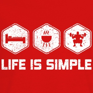LIFE IS SIMPLE - SQUAD - Kids' Premium Long Sleeve T-Shirt
