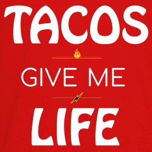 Tacos Give Me Life - White - Kids' Premium Long Sleeve T-Shirt