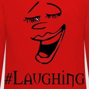 laughing - Kids' Premium Long Sleeve T-Shirt