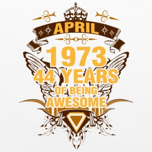 April 1973 44 Years of Being Awesome - Pillowcase