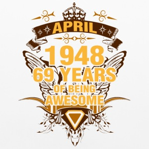 April 1948 69 Years of Being Awesome - Pillowcase