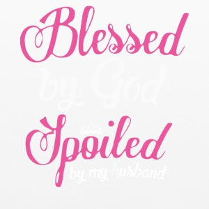 Blessed By God Spoiled By My Husband T Shirt - Pillowcase