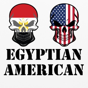 Egyptian American Flag Skulls - Pillowcase
