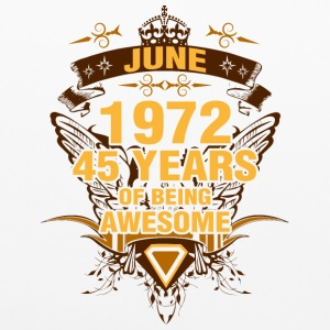 June 1972 45 Years of Being Awesome - Pillowcase
