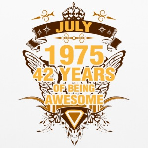July 1975 42 Years of Being Awesome - Pillowcase