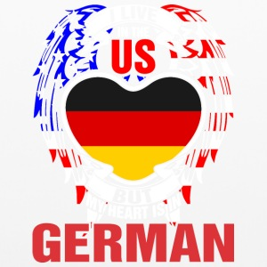 I Live In The Us But My Heart Is In German - Pillowcase