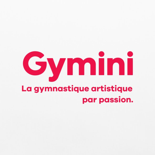 Gymnastique artistique par passion - Rouge