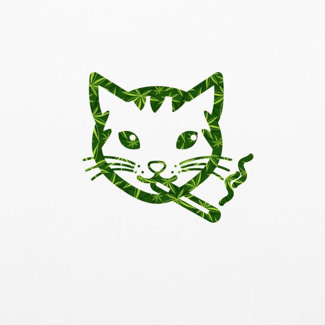 Smoking Cat Design