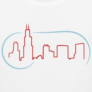 Chicago Skyline - Men's Premium Tank