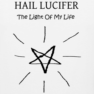 Hail Lucifer, The Light of My Life - Men's Premium Tank