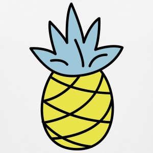 retro pineapple - Men's Premium Tank