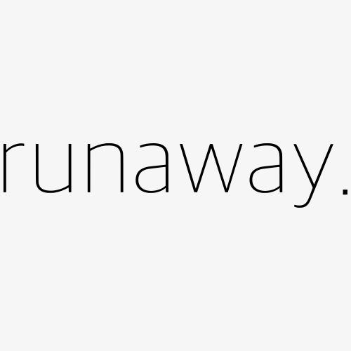 runaway. - Men's Premium Tank