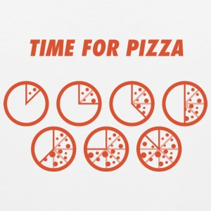 TIME FOR PIZZA pizza Pizza pizzaaaah - Men's Premium Tank