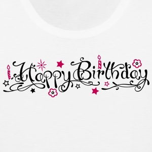 Happy birthday logo - Men's Premium Tank