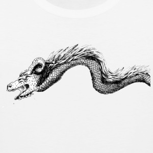 Dragon in black and white - Men's Premium Tank