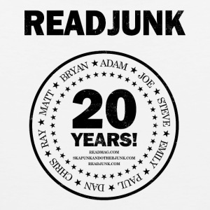 ReadJunk.com 20th Anniversary (black) - Men's Premium Tank